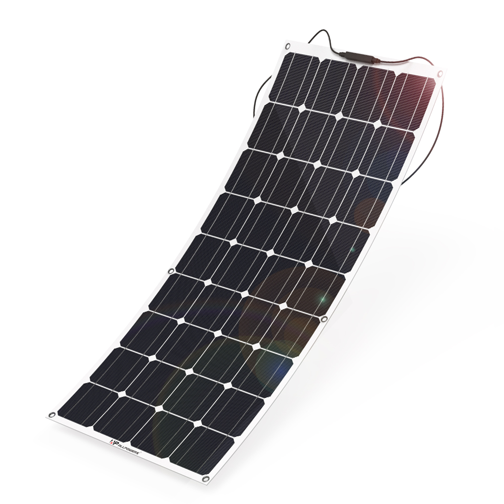 Allpowers Solar System Flexible 12v 18v 100w