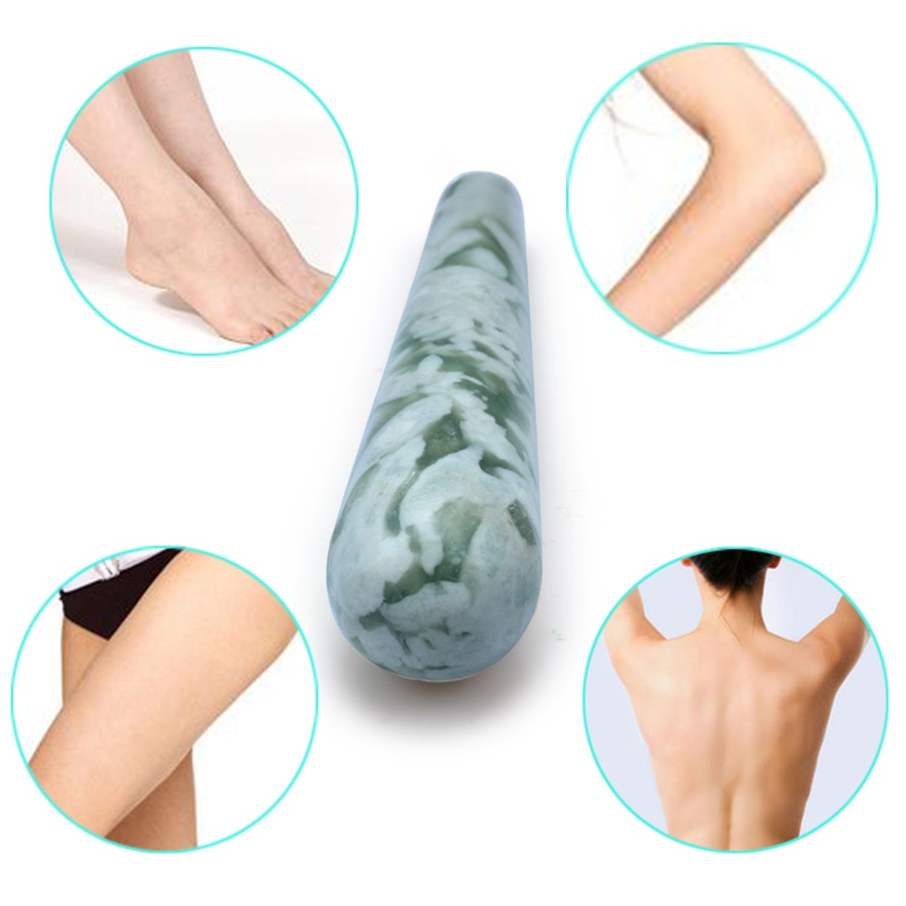 Reflexology Health Traditional Acupoint Massager Jade Acupressure Point Massage Stick Meridian Relax Massage Tools synthia andrews acupressure and reflexology for dummies