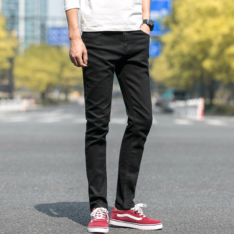 New   jeans   for mens slim fit pants classic   jeans   male denim   jeans   Designer Trousers Casual skinny Straight Elasticity pants KY806