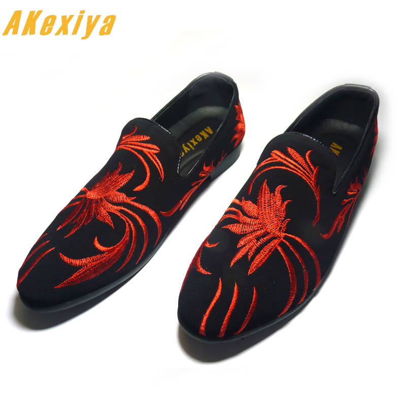 Men Luxury Designer Punk Rock Blue National Embroidery Oxfords Shoes 2019 Homecoming Male Wedding Prom Formal Dress Shoes Pure White And Translucent Formal Shoes Shoes