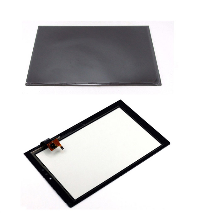 For Lenovo Yoga 2 1050 1050F 1050L Touch Screen Digitizer Sensor Glass + LCD Display Panel Monitor new 8 inch for lenovo yoga 8 b6000 digitizer touch screen glass sensor lcd display panel monitor tablet pc protection