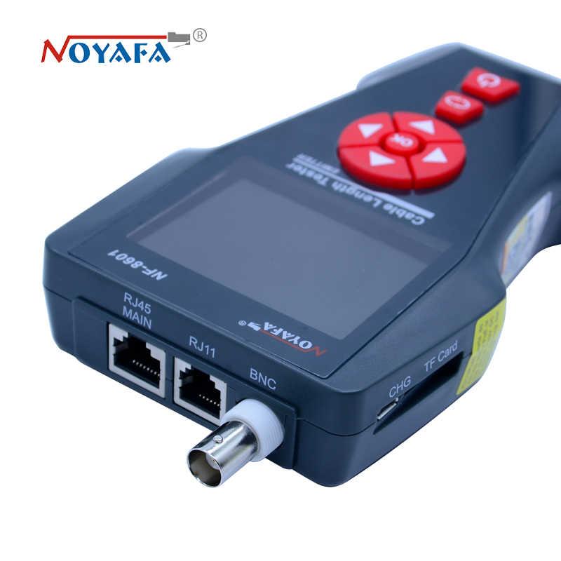 新しい NF-8601W 多機能ネットワークケーブルテスター Lcd ケーブル長テスターブレークポイントテスター英語版 NF_8601W
