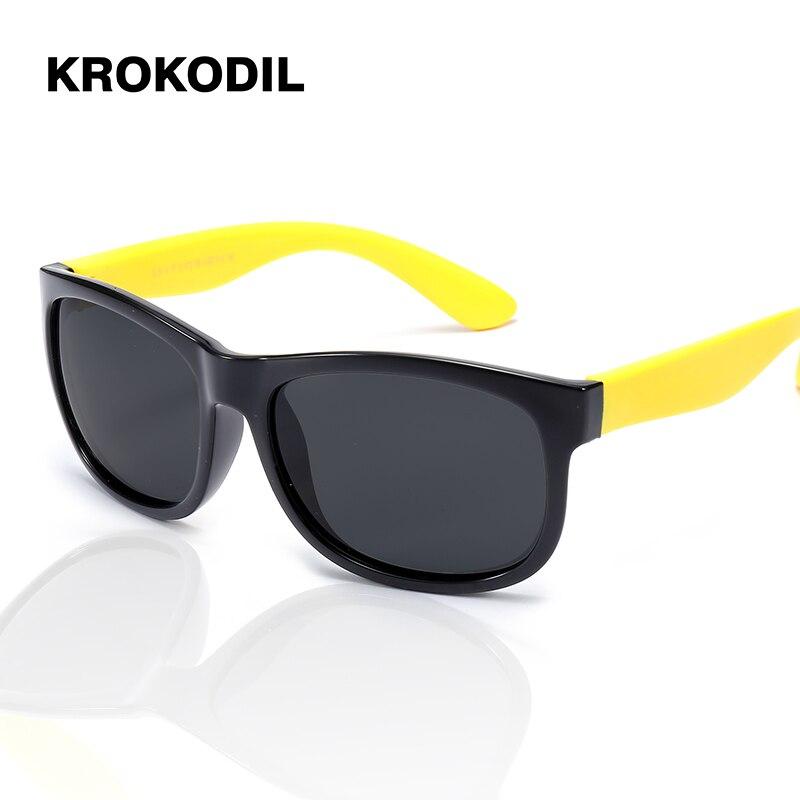 TOP Polarized Silicone Kids Sunglasses Boys Girls Baby Infant Sun Glasses  100% UV400 Eyewear Child Shades Oculos Infantil 814 em Óculos Escuros de  Mãe ... c31af46237