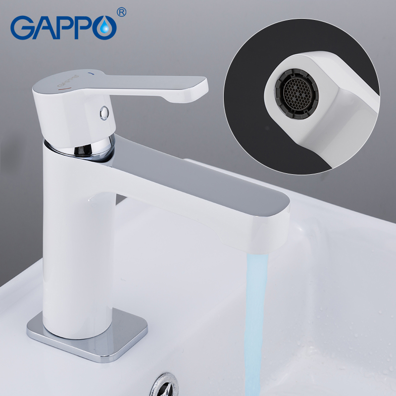 Image 5 - Смеситель для раковины GAPPO, латунный Смеситель для ванной, кран для раковины, кран для ванны, кран для раковины-in Смесители для бассейна from Товары для дома
