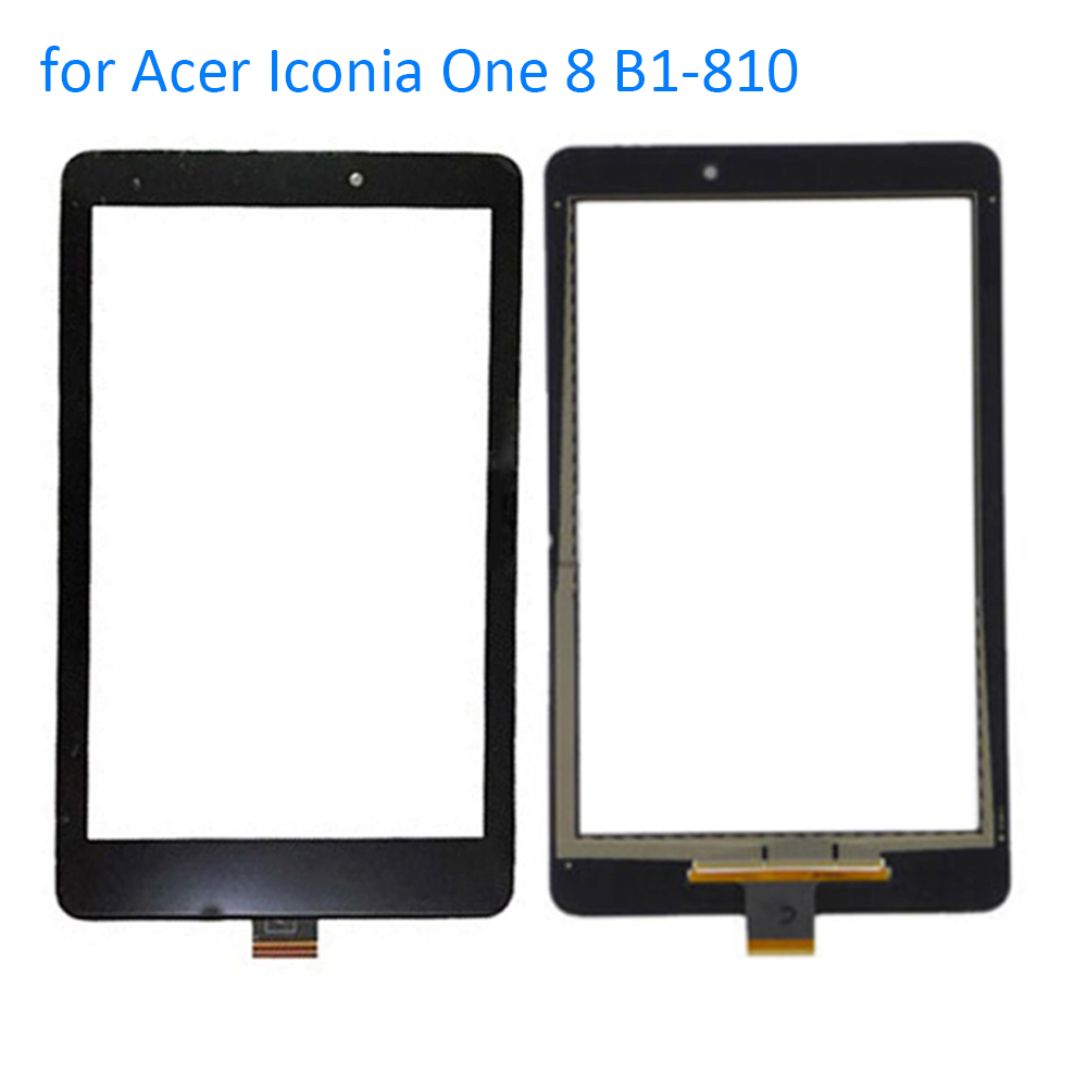 ALANGDUO for Acer Iconia One 8 B1-810 B1 810 Touch Screen Digitizer Panel Front Replacement Touchscreen Glass Tablet Sensor original new 10 1 inch touch panel for acer iconia tab a200 tablet pc touch screen digitizer glass panel free shipping