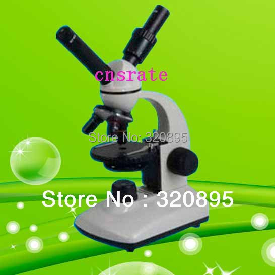 40X-400X Binocular Bio-Microscope with Incandescent Lamp 15W and 90mm Rounded Stage with Paired Clips TXS05-05RS 40x 400x biological microscope with incandescent lamp for laboratory education