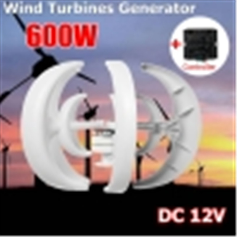 Wind Turbine 500W Max 600 DC 12/24V Combine With 600W English Wind Generator Controller Home For Home Hybrid Streetlight Use max 600w wind turbine generator ac 12v 24v 5 blade power supply for home hybrid streetlight use