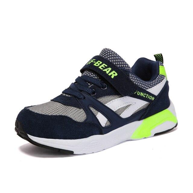 e1b60aade52 2017 Lente Herfst Kinderschoenen Jongens Sneakers Meisjes Sportschoenen  Kind outdoor trainers ademend kids loopschoenen Size31-