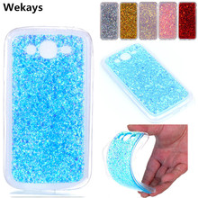 Wekays For Samsung Galaxy Grand Duos I9082 Bling Glitter Fundas Cases For Samsung Galaxy Grand Neo Plus I9060 I9062 Cover Case kalaideng protective pu leather case cover stand for samsung galaxy grand neo i9060 golden