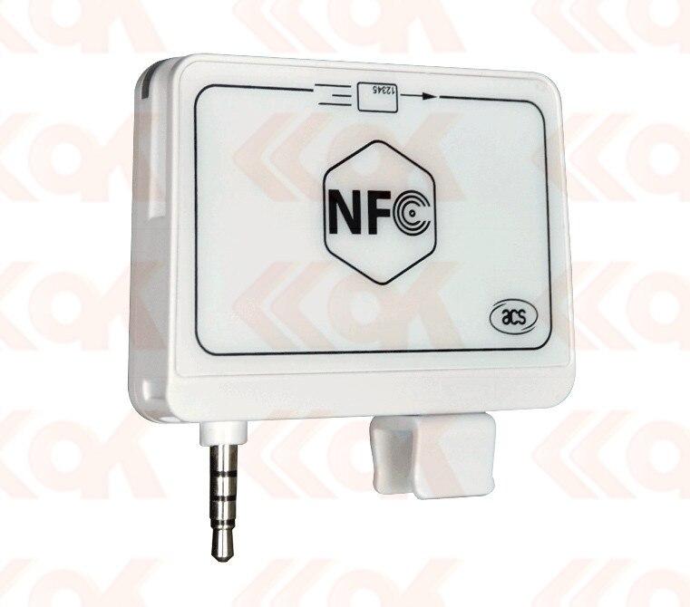 Yongkaida 2-en-1 ACR35 MobileMate Magnétique Lecteur de Carte Lecteur RFID Écrivain