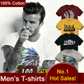 100% Cotton T shirts Men Short Sleeve Brand Design Summer male Tops Tees Fashion Casual Tshirts For Man New Arrival JMS