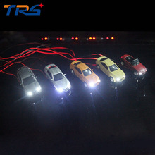 New 1:100Toy Car Metal Alloy Diecast Car Model Miniature Scale model and Light Model Car Toys For Architectural model making new arrival gift pnmr 1 18 large metal model car sport drive model scale alloy collection vehicle toys car pro fans show