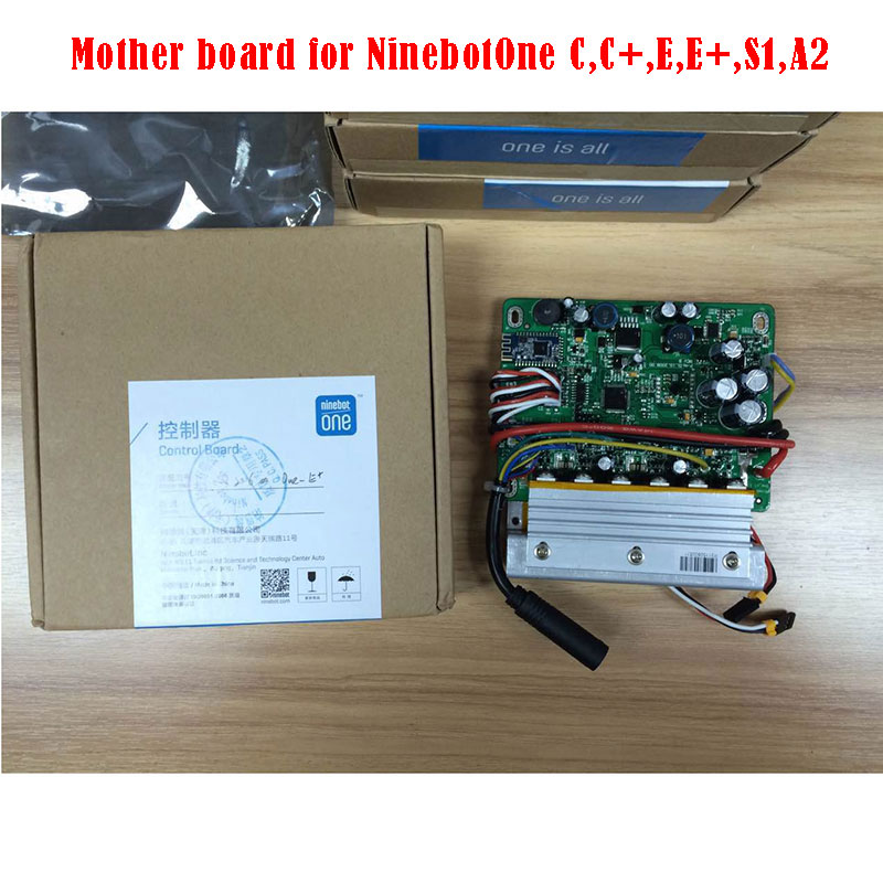 Orignal Ninebot Mother Board for Ninebot One C,C+,E,E+,A1,S2 Electric  Scooter repair and replacement parts and acccesaries