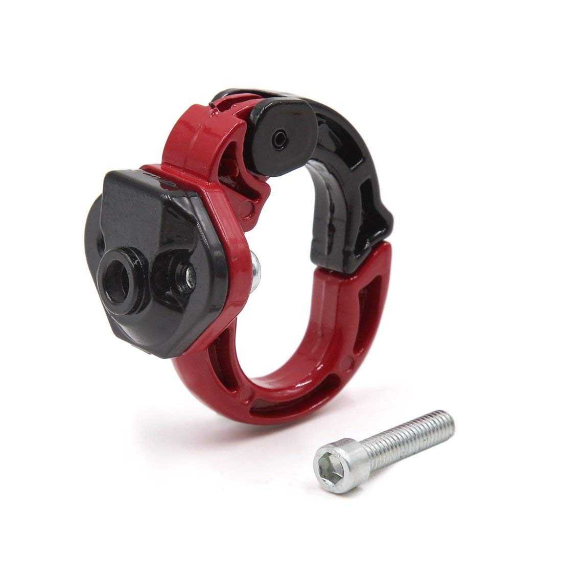FäHig Uxcell A17030600ux0075 Universal Schwarz Rot Metall Gepäck Einkaufstasche Halter Haken Für Motorrad Roller Ausgezeichnet Im Kisseneffekt