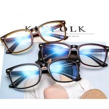 Slim Glasses Frame Fashion Brand Women Transparent Eyeglasses Optical Spectacles Vintage Men Prescription Eyewear