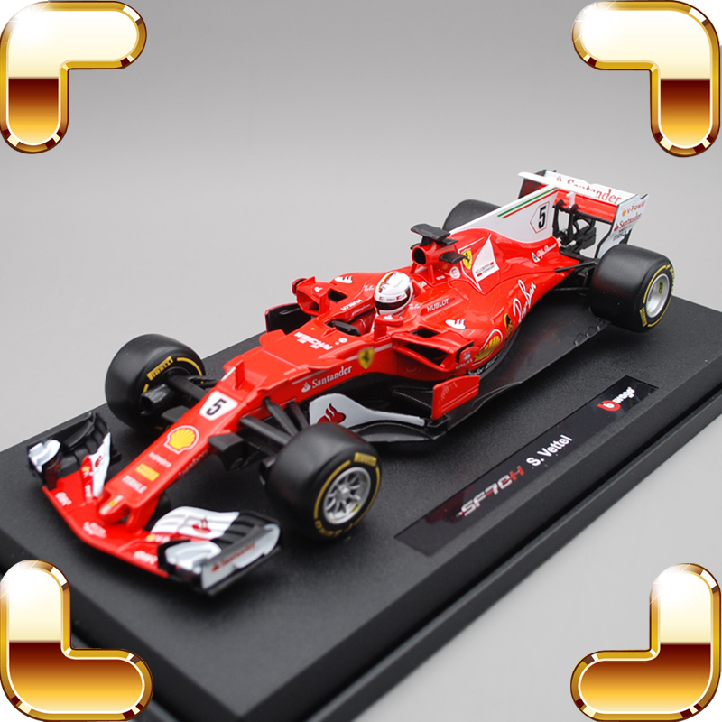 New Arrival Gift 1/18 SF70H Model Metal Collection Match Race Car House Decorate Luxury Simulational Present Alloy Static Toy new arrival gift murcielago 1 18 big racing model car roadster style vehicle metal alloy collection toy for fans present