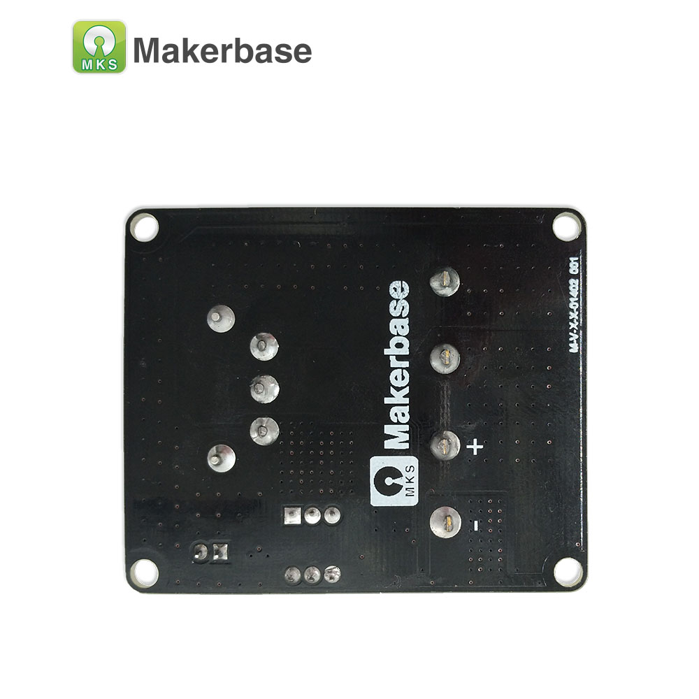 lowest price Makerbase MKS MOS25 3D printer parts heating-controller for heat bed extruder MOS module support big current 25A