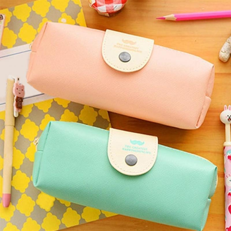 2018 Girls Cosmetic Bags Portable Women Makeup Bag PU Printed  Pink Blue Travel Neccersity Easy To Carry Toitery Bags Boys