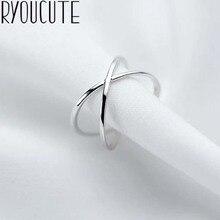 Богемное винтажное 925 пробы Серебряное кольцо с крестом для женщин, свадебные трендовые ювелирные изделия, большие регулируемые античные кольца Anillos