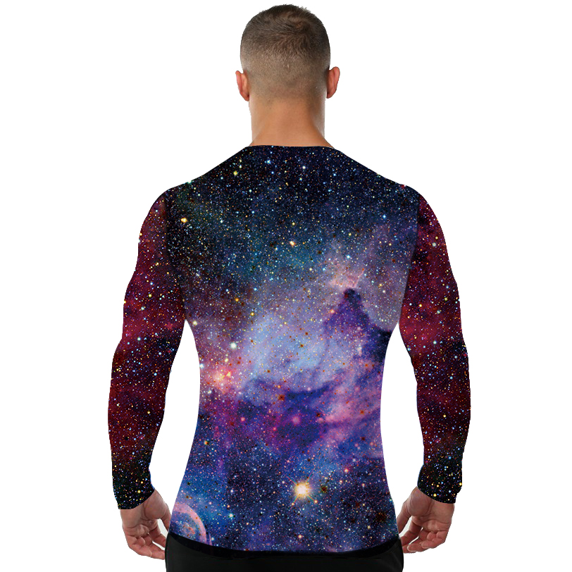 c355e98a8 Galaxy Shirt Space Universe 3d Print Tshirt Men Hort Long Sleeves Mens  Brand Clothing Hip Hop Tops Tees Cool Hiphop Clothes 4XL-in T-Shirts from  Men's ...