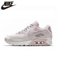 b31101ec87 NIKE AIR MAX 90 LX Women's Running Shoes, Pink, Shock Resistant Non-slip