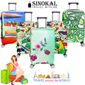 Luggage Protector Cover Suitcase Covers Protectors Spandex Thicken Flexible Travel Baggage Cover