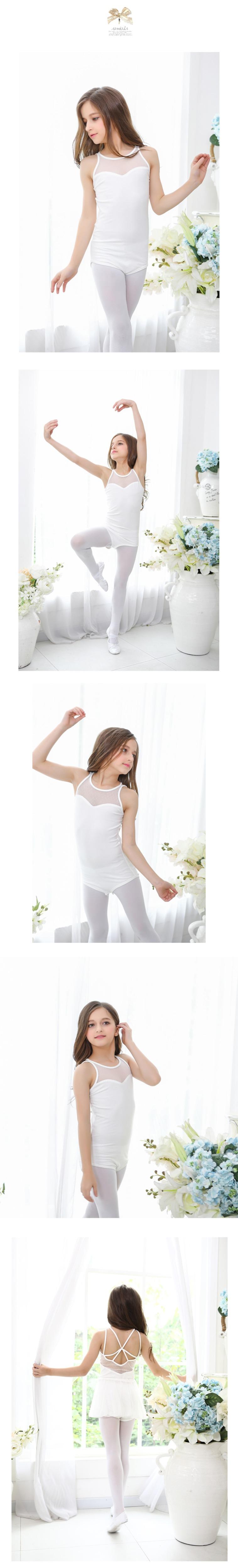 Trikoo ja balletiseelik tüdrukutele