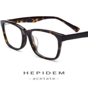ff7f595e07 Montura de gafas ópticas de acetato para hombre 2018 gafas de prescripción  de miopía de diseñador de moda para mujer