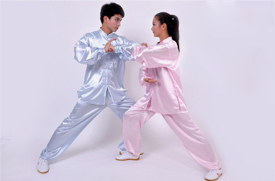 Korean Unisex Tai Chi Suits Martial Arts Performance Uniform Wushu Suit Daily Exercise Clothes