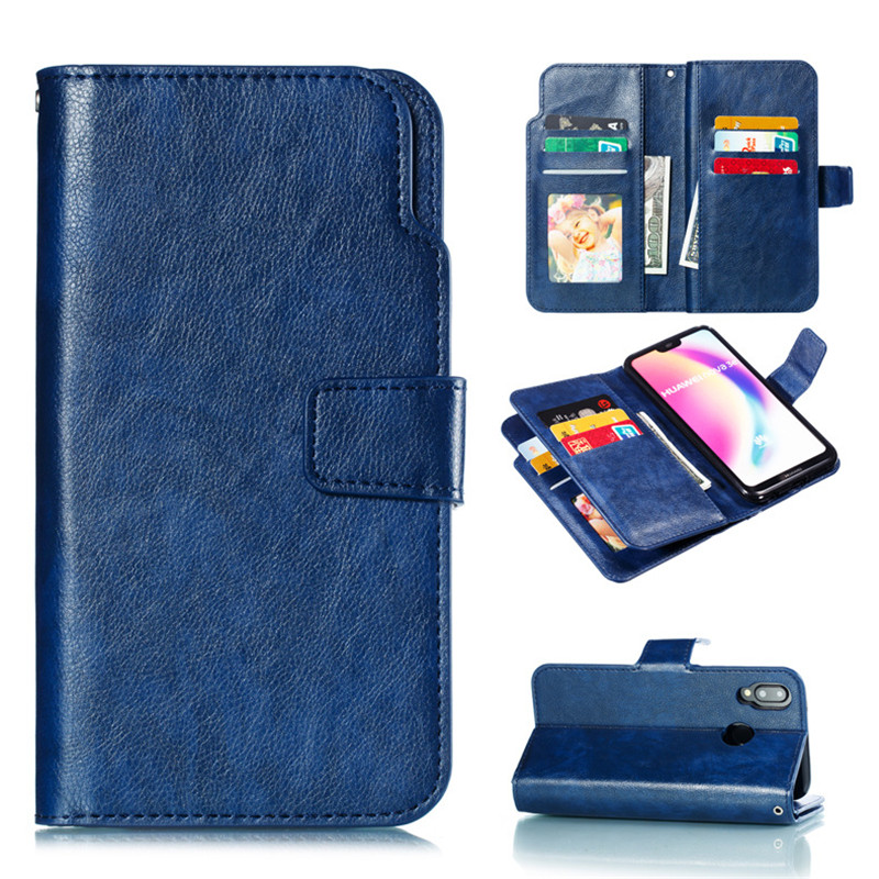 Leather wallet phone case for Huawei MATE P8 P9 P10 P20 10 20 LITE PRO P-SMART mobile phone panel bracket bank card slot flipLeather wallet phone case for Huawei MATE P8 P9 P10 P20 10 20 LITE PRO P-SMART mobile phone panel bracket bank card slot flip