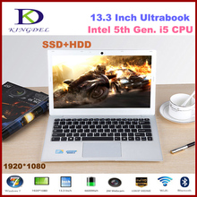 5th generation core i5 5200u laptop ultrabook with 8GB RAM+128GB SSD+500G HDD 1920*1080,Metal Cover,HDMI, 8 cell battery,USB3.0(Hong Kong)