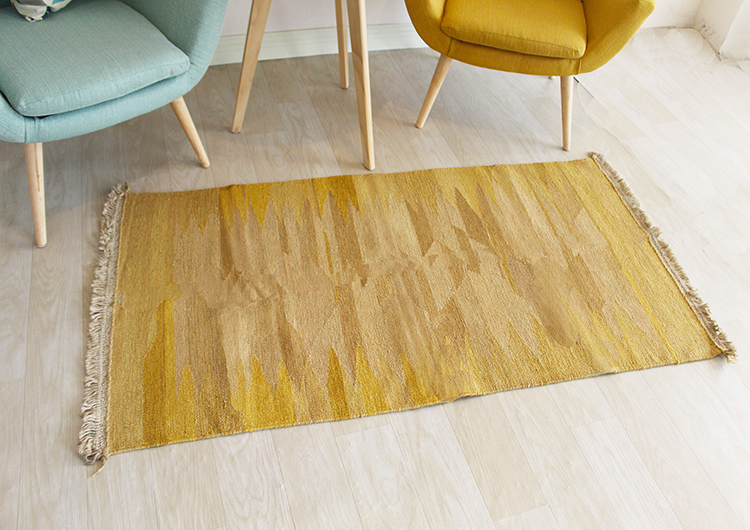 Kilim tissu grand Style Vintage décor Antique motif Animal géométrique laine tapis tapis