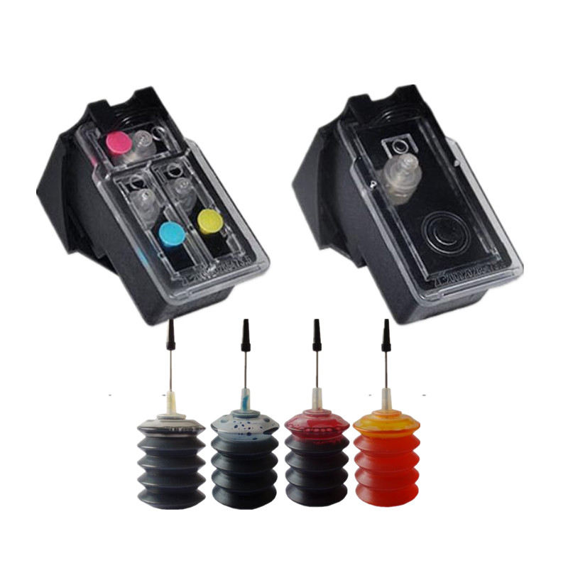 PG37 CL38 refillable Ink Cartridges compatible for Canon PIXMA MP140 MP190 MP210 MP220 MP420 IP1800 IP2600 MX300 MX310 printer