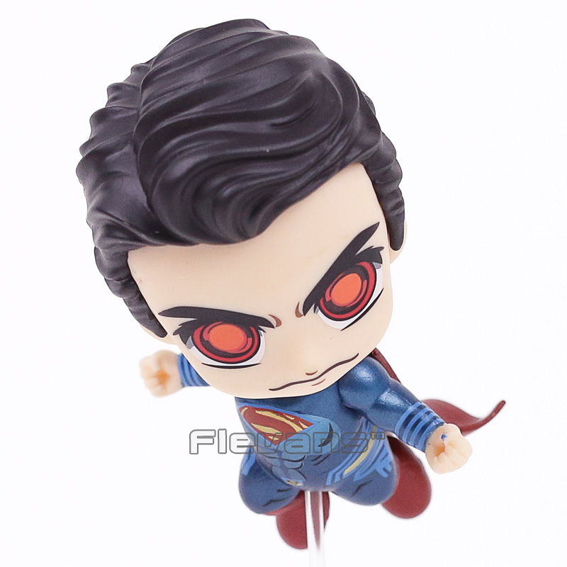 COSBABY DC Justice League Superman Wonder Woman Bobble Head Dolls PVC Figure Collectible Model Toys 2 Styles