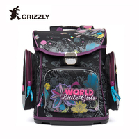 New Female Orthopedic Backpack Schoolbag Large Capacity Printing Flower Backpacks for Teenager Girls Primary Backpack Travel Bag