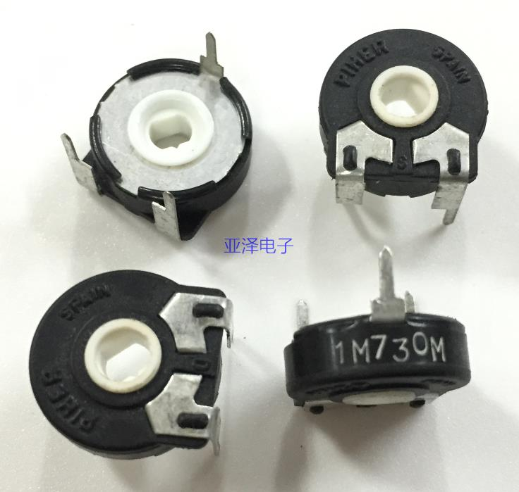 1 Piece Trimmer Resistive 470 K Ohm Piher Spain Trimmer Potentiometer pt15nh