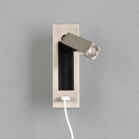 luz da parede moderna levou dispositivo eletrico carregador usb iluminacao sconce da lampada de parede