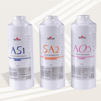 AS1 SA2 AO3 Aqua Peeling Solution/400ml Per Bottle Aqua Facial Serum Hydra Dermabrasion Facial Serum For Normal Skin