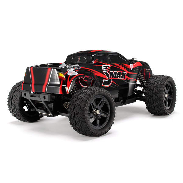 US $78 69 50% OFF|REMO 1631 1/16 2 4G 4WD Brushed Off Road Monster Truck  SMAX RC Remote Control Toys With Transmitter RTR-in RC Cars from Toys &