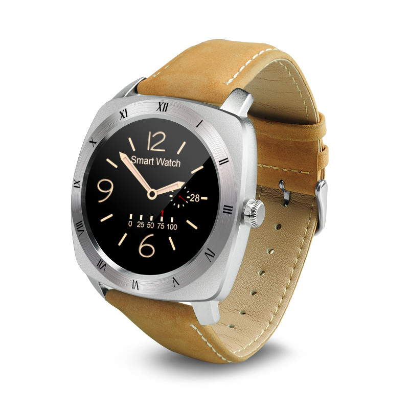 ФОТО 2017 hot DM88 Bluetooth Wearable Devices Smartwatch Waterproof Heart Rate Smart Electronics Watch for Iphone  Android