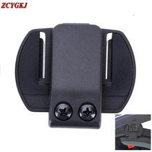 V6 V4 V2-500C  Clip Bracket Suitable for Motorcycle BT bluetooth multi interphone headset helmet intercom