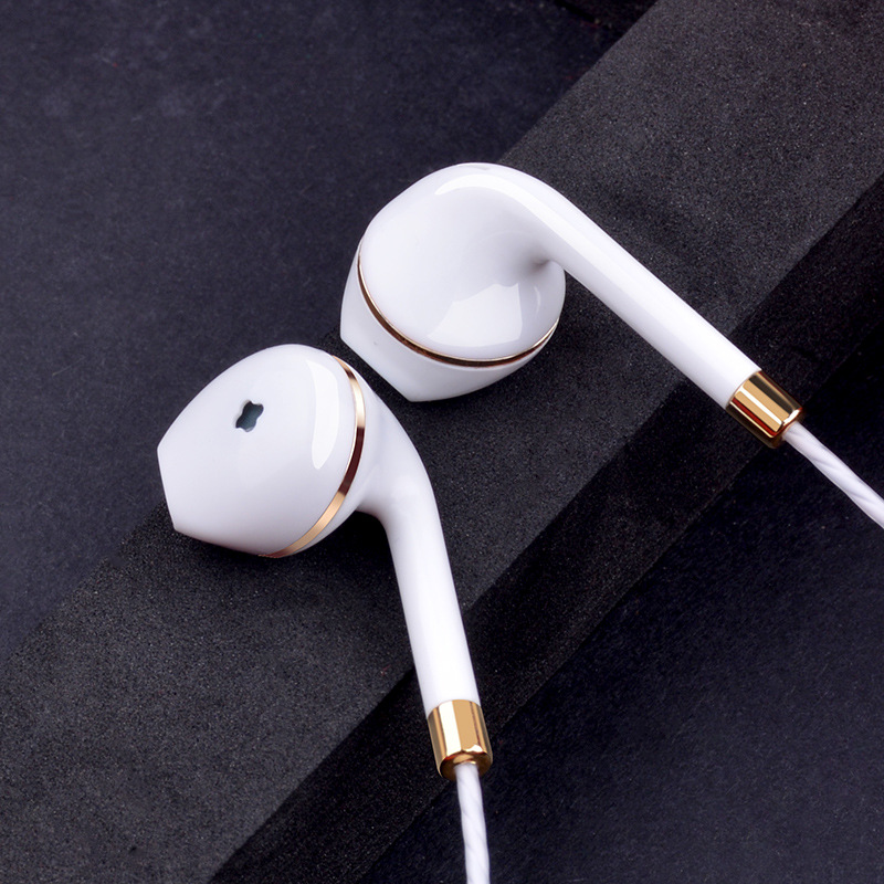 New in-ear earphone for apple iphone 5s 6s 5 xiaomi bass earbud headset Stereo Headphone For Apple Earpod Samsung sony earpiece fashion 3 5mm stereo in ear earphone earbud headphones headset for htc ipad iphone samsung binmer factory price drop shipping