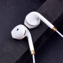 Nuevo auricular in-ear para iphone 5s 6s 5 xiaomi bass auriculares estéreo auriculares para Samsung sony auriculares con cable audifonos(China)