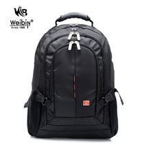 Weibin 9393 водонепроницаемый нейлоновый рюкзак мужчины свободного покроя бухгалтерского женщин дорожные сумки новый ученик средней школы мешок