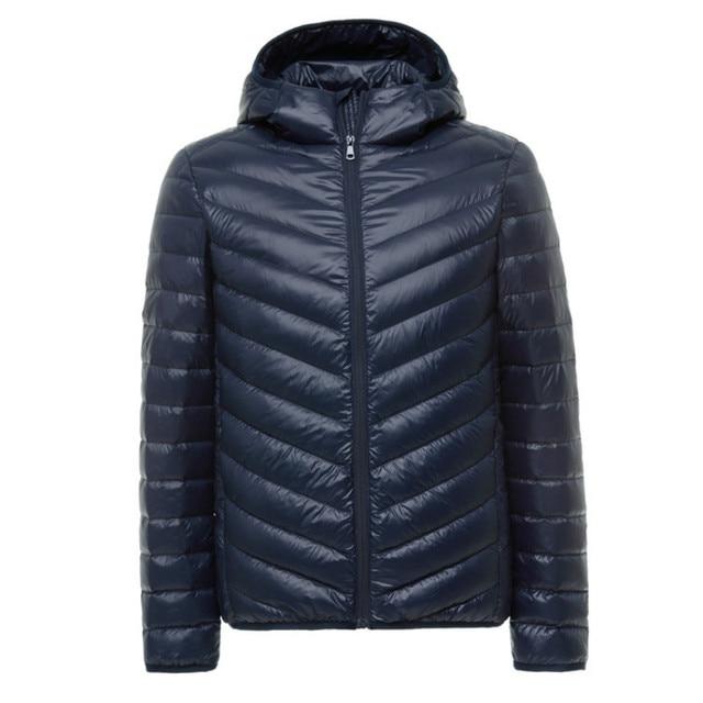 Зимняя куртка Для мужчин Пальто для будущих мам 90% Белые куртки-пуховики Для мужчин S Мужские парки с пальто с капюшоном брендовая одежда Повседневное теплая верхняя одежда S-3XL