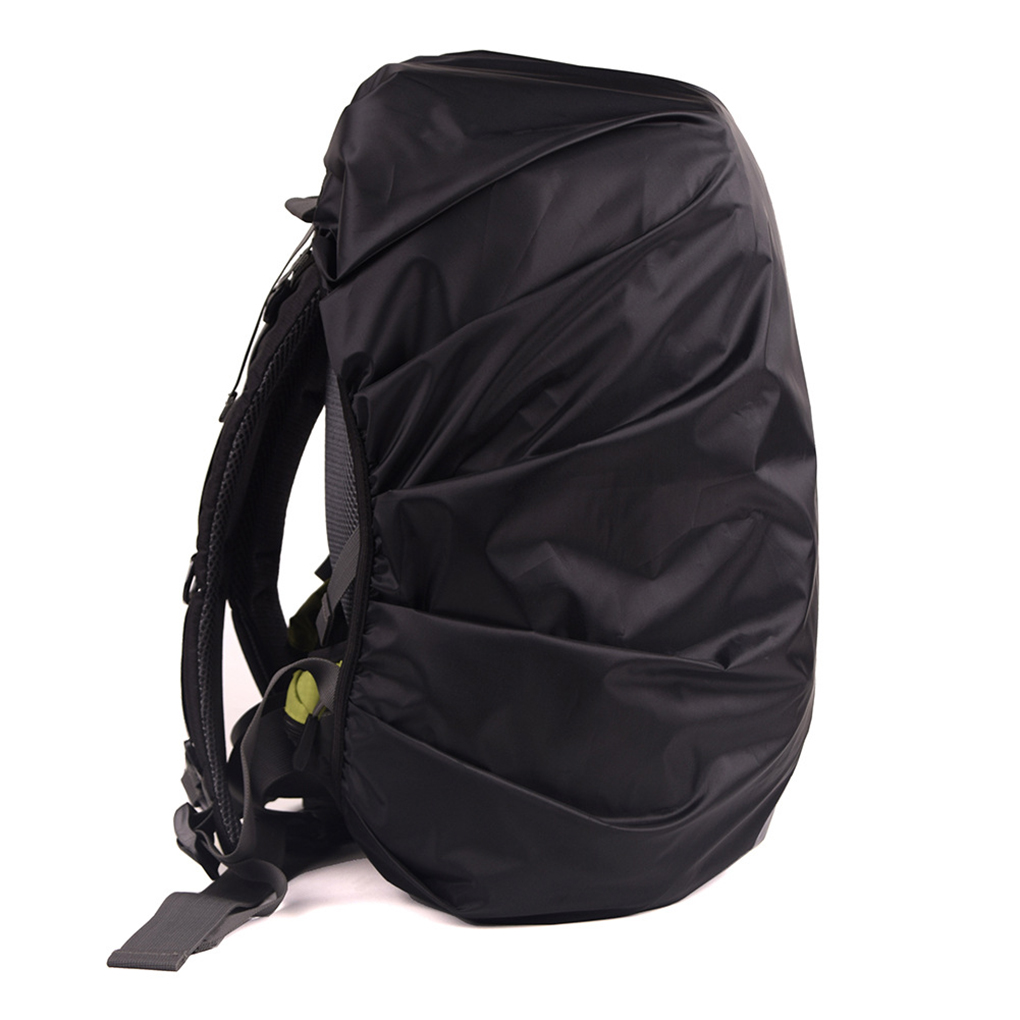 Image 4 - Safe Backpack Rain Cover Reflective Waterproof Bag Cover Outdoor Camping Travel Rainproof Dustproof-in Raincoats from Home & Garden