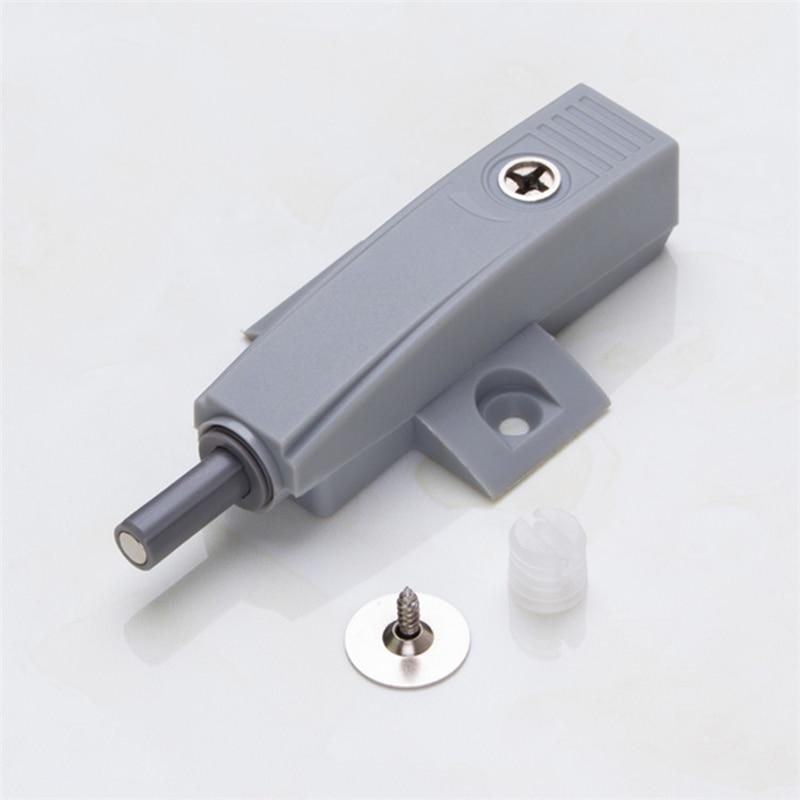 8Pcs Gray Kitchen Cabinet Door Suction Door Rebound Device Quiet ...