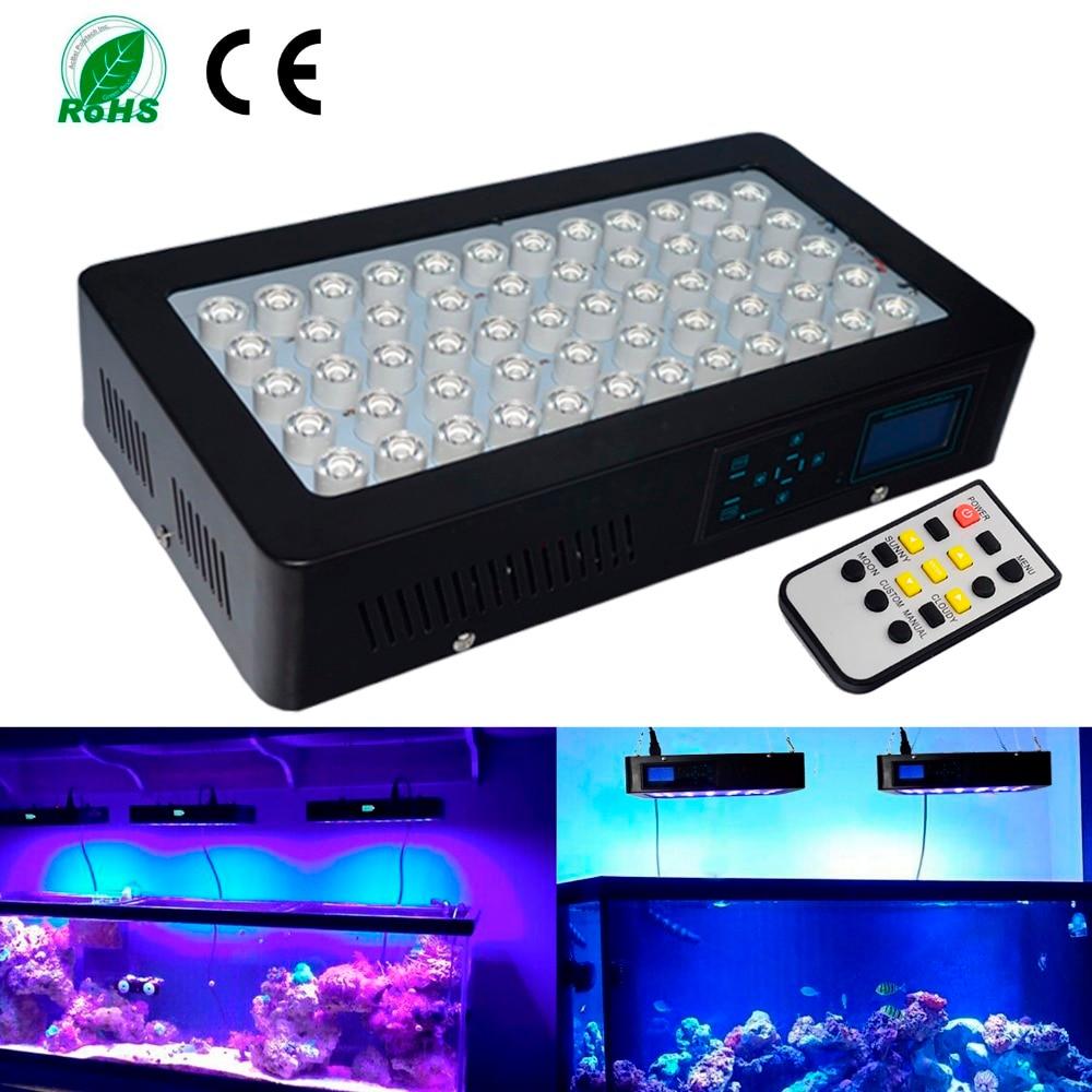 Le lever et le Coucher Du Soleil Programmable 150 Watts A Mené La Lumière D'aquarium Dimmable A Mené La Lumière pour le Corail De Récif Poisson pour Votre Belle Réservoir