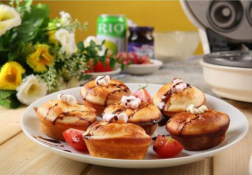 multi function Home Cake machine full automatic donut Machine waffle cake Machine cake mechanical baking pan - 6