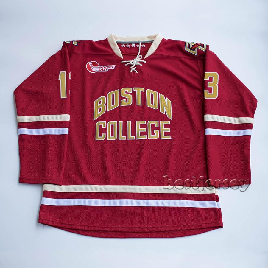 Hot Sale Kowell Boston College johnny gaudreau Stitched Hockey ... 1af88cf81dc